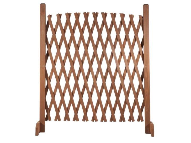 Barriere bois extensible 30 à 150 cm - Vente de ID MARKET - Conforama