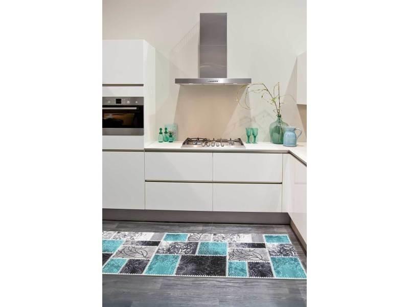 Vintage bleu 67 x 180 cm tapis cuisine par unamourdetapis - Vente de ...