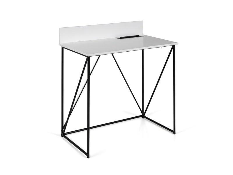 Petit bureau design en bois et métal corsa 9001401801