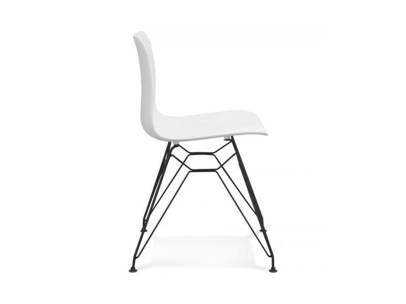 Chaise design fifi white 47x49x83 cm Vente de KOKOON