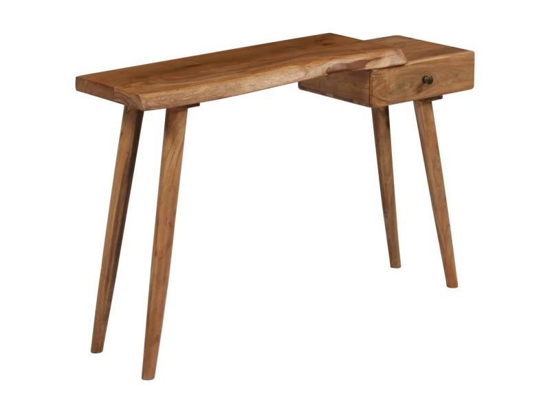 cm 76 35 115 table x d'acacia Vidaxl bois x console massif 6Yb7yfg
