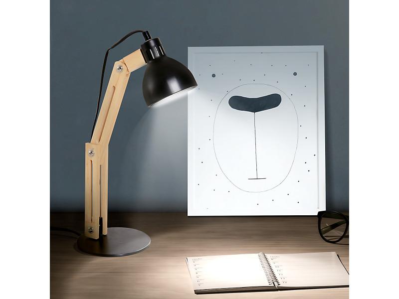 Ameublement Et Décoration Homcom Lampe De Table Lampe De