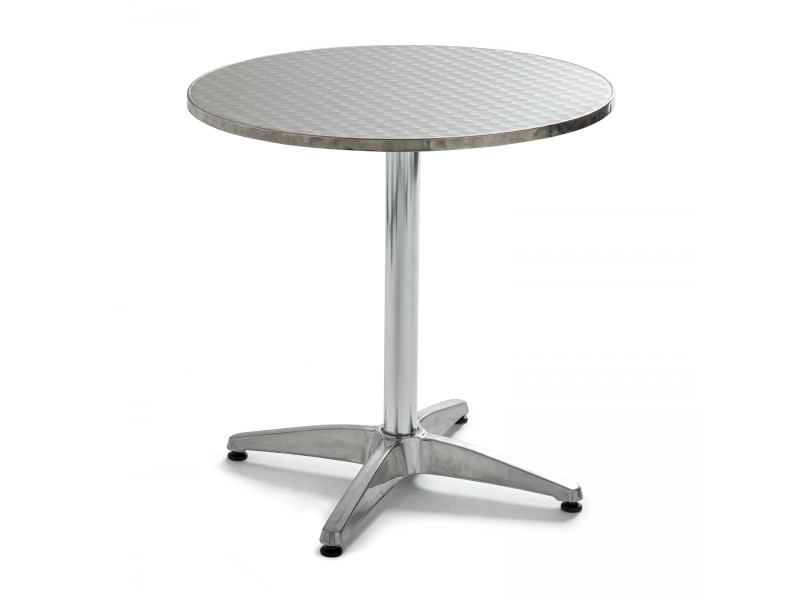 Table de jardin ronde en aluminium - Vente de Table - Conforama