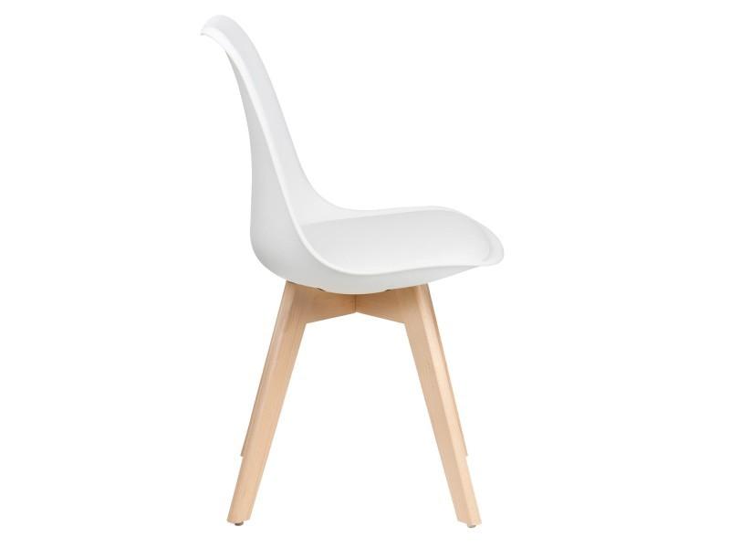 Lot chaises de blanc skagen design de 4 scandinave Vente SqMUzVp