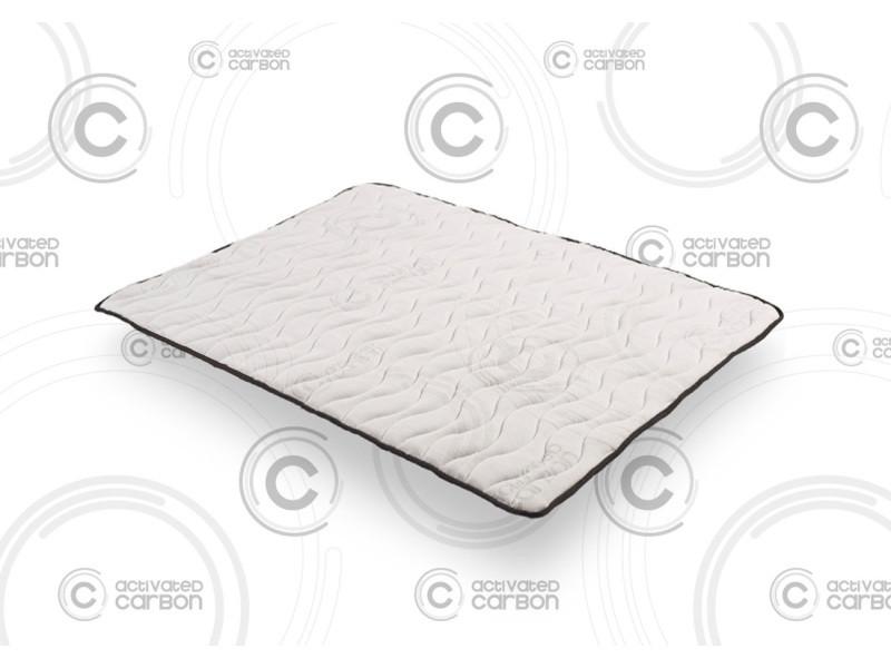 sur matelas topper carbon 120x190 cm m moire de forme visco v200 mouse hr active latex. Black Bedroom Furniture Sets. Home Design Ideas