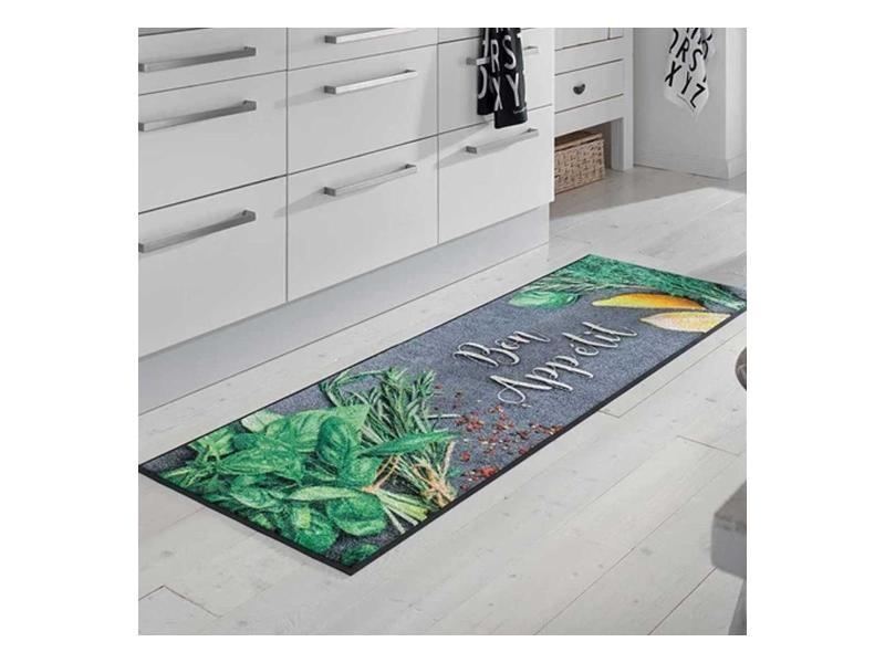 Bonapeti kt gris 60 x 180 cm tapis cuisine par ...