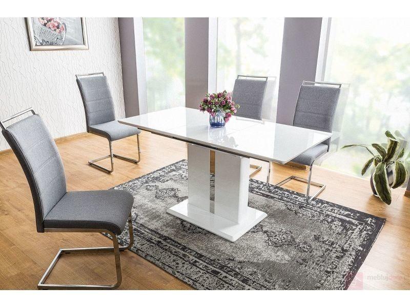Table à manger rectangulaire extensible 110 ÷ 150 cm x 75 cm x 76 cm