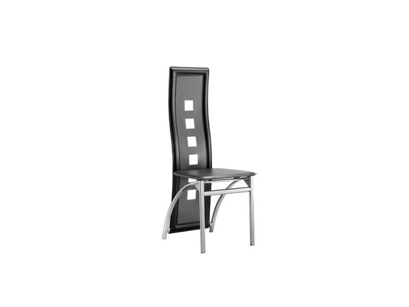 a salle manger Eiffel noires lot et chaises de grises de 2 KTJcFl1