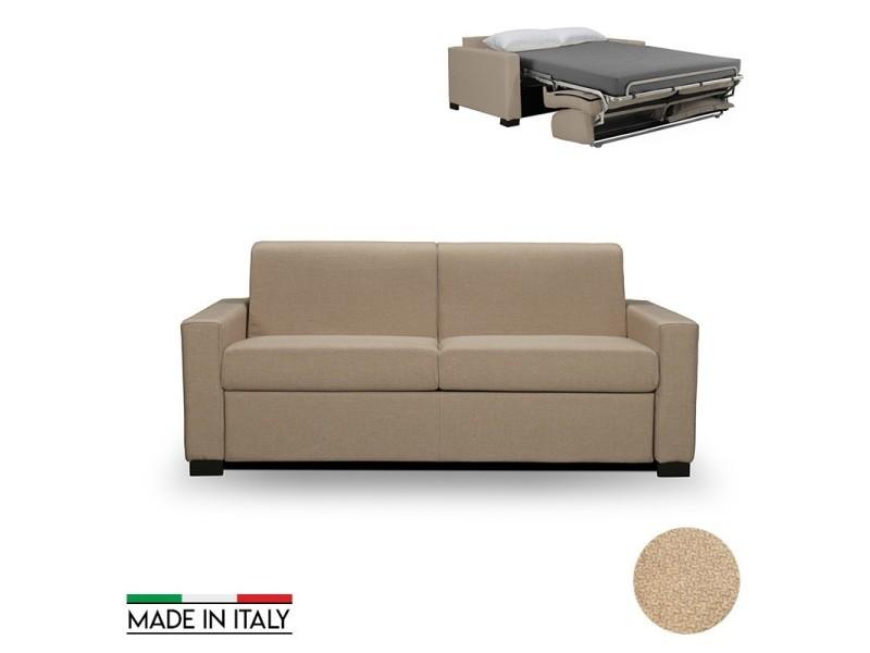 canap rapido oxford convertible 140cm matelas paisseur. Black Bedroom Furniture Sets. Home Design Ideas