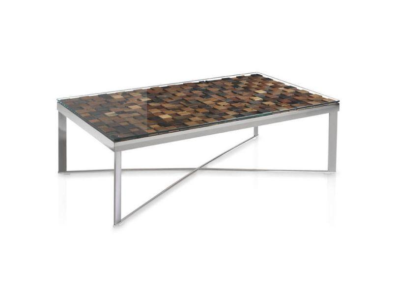 Paris prix - table basse design en bois \