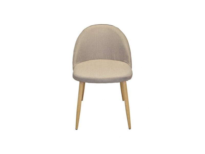 4 chaises scandinaves couleur sable