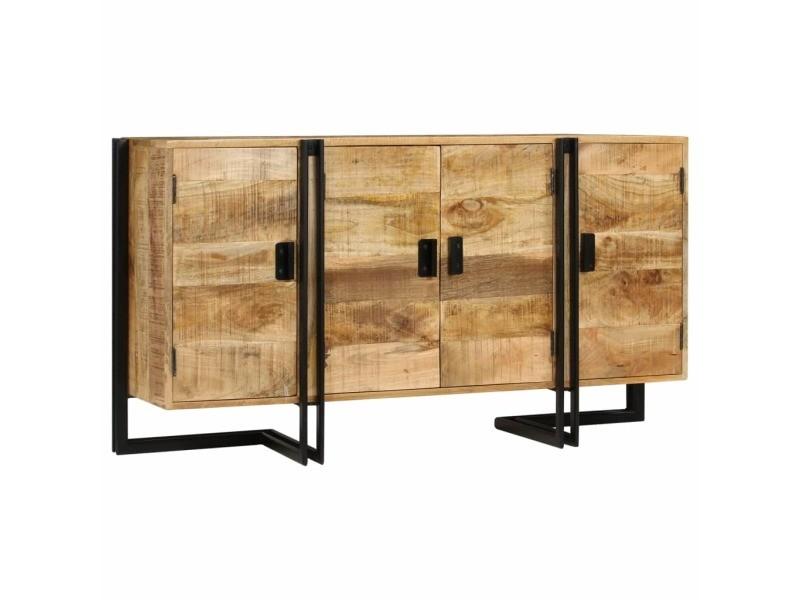 Magnifique armoires et meubles de rangement famille beyrouth buffet bois de manguier massif 150 x 40 x 80 cm
