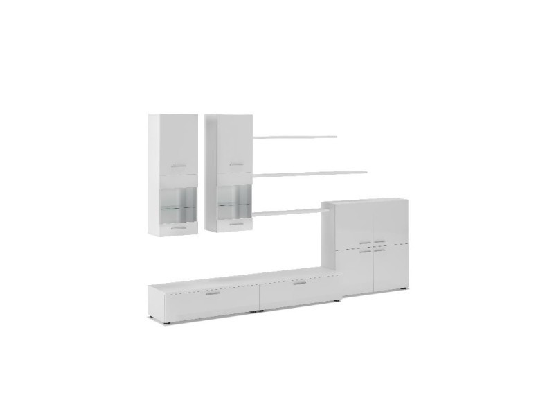 home innovation– ensemble de meubles, meuble de salon unité murale