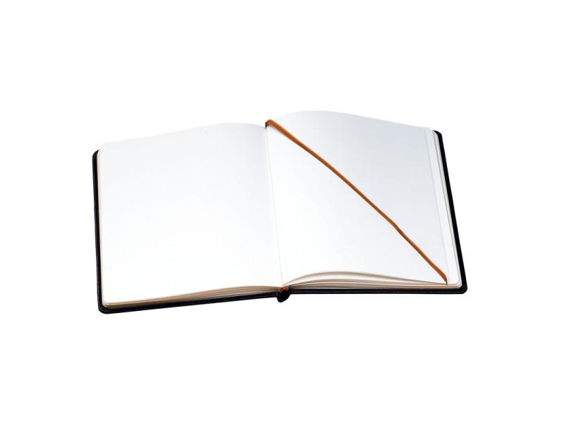 Livre D Or Alpille En Cuir 140 Pages Couverture Vierge