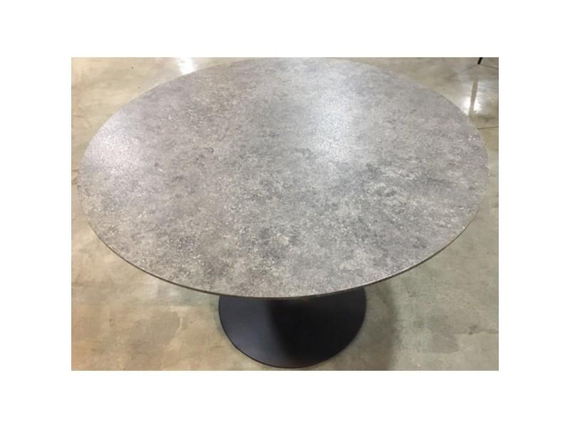 Table Ronde Cuisine Pied Central.Table Ronde Avec Pied Central Josua Magnifique Design Pour