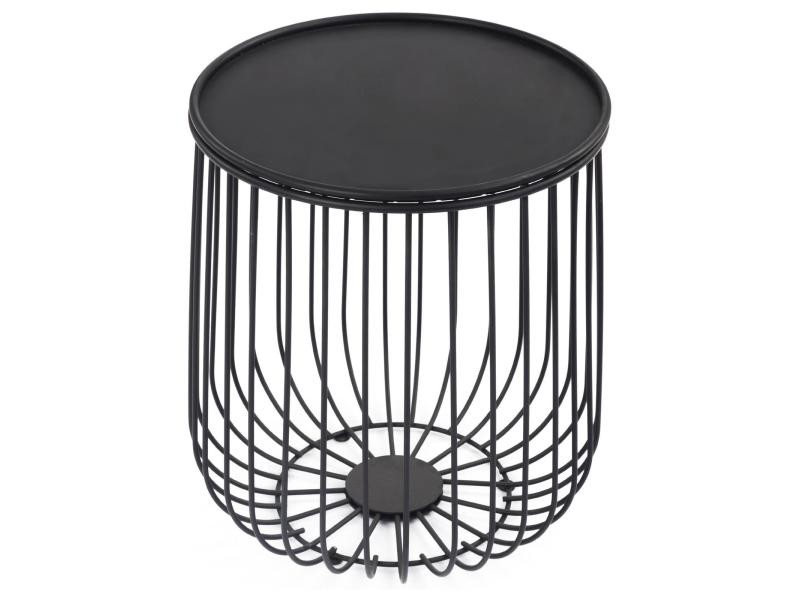 Table d 39 appoint daya table caf table basse ronde bout - Table basse ronde conforama ...