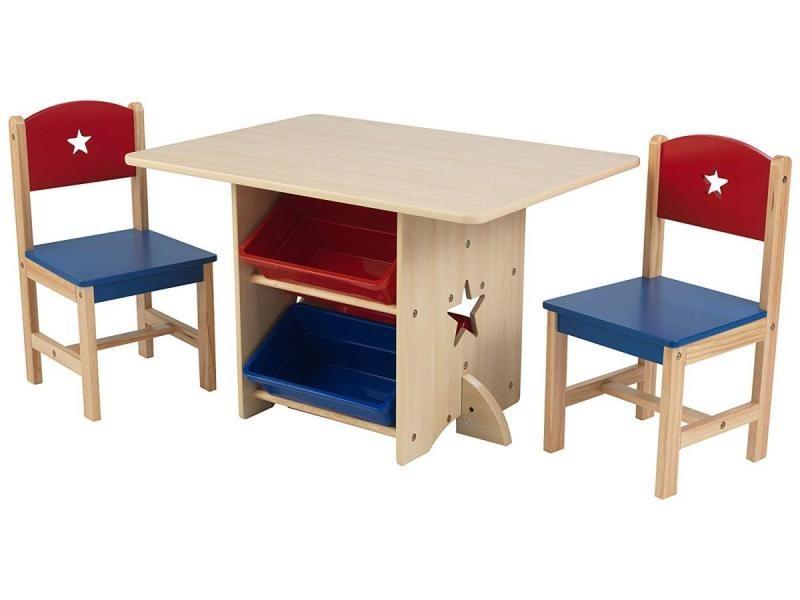 Ensemble Table Et Chaises Avec Motif Dtoile 26912