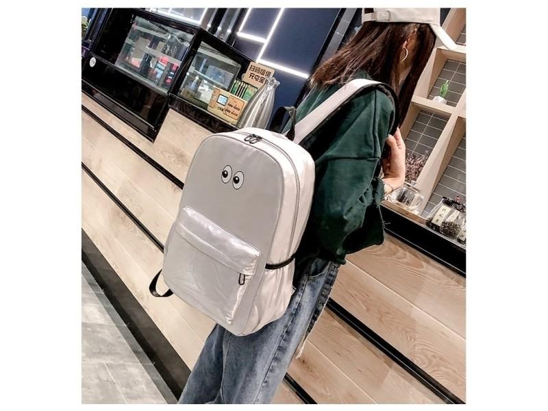 Dos À De School Sac Double Design Shoulders Bag Voyage Zipper 2IWEYeHbD9