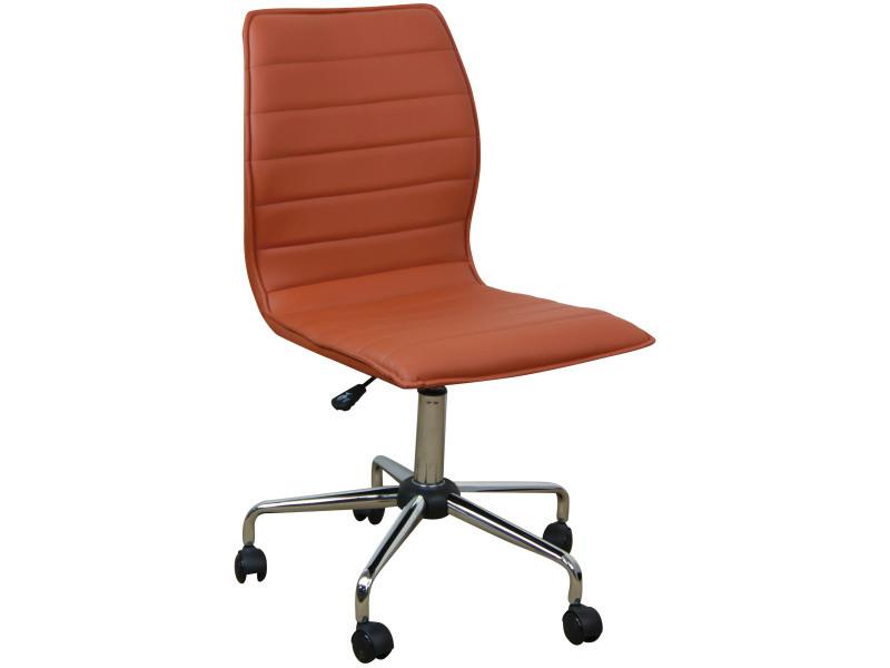 en pu bureau hauteur en de Chaise cm coloris 92 réglable w8n0POXk