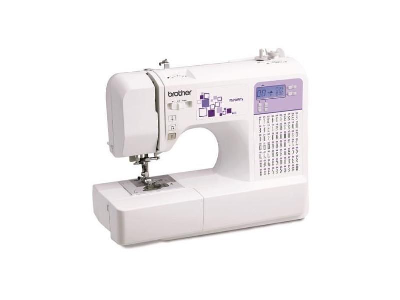 Brother fs70wts machine a coudre électronique - blanc