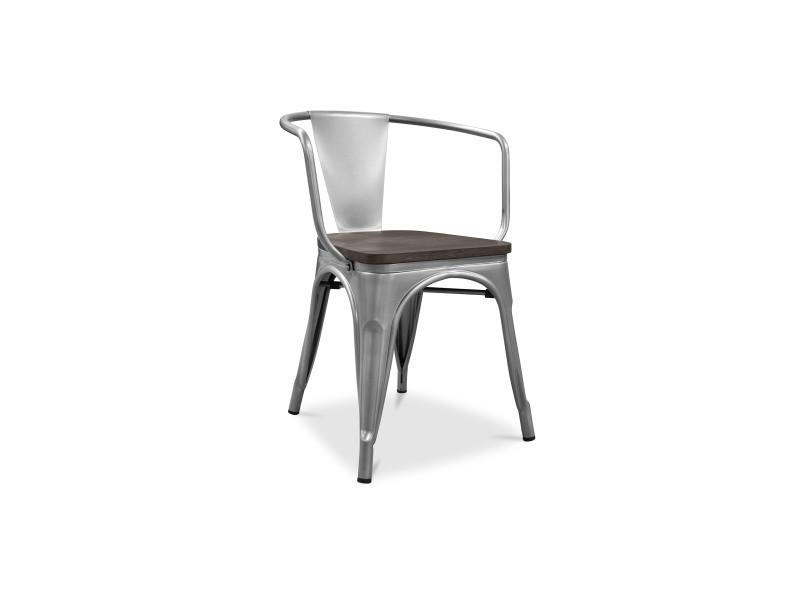 tolix Chaise assise en style xavier bois pauchard avec nk8PX0wO