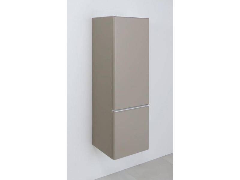 Colonne salle de bain taupe h115cm julia - Vente de MOB-IN ...