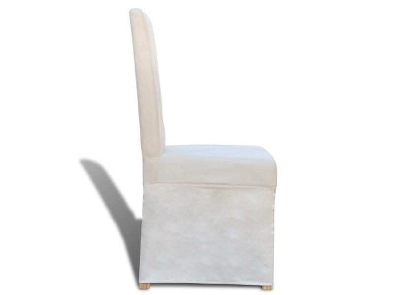 classique salle blanches chaises manger à 2 de salon cuisine n0N8vOwm