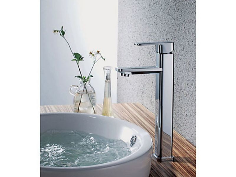 Robinet salle de bain (haut), style simple et contemporain ...