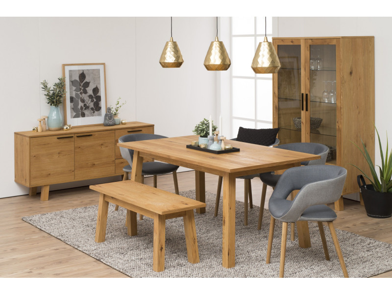 Table de salle manger charles vente de hellin conforama - Conforama table de salle a manger ...