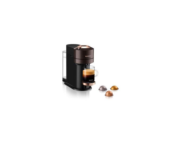 Cafetière à capsules nespresso vertuo next premium 11708 1500 w marron finitions chromées FC-1-14620962