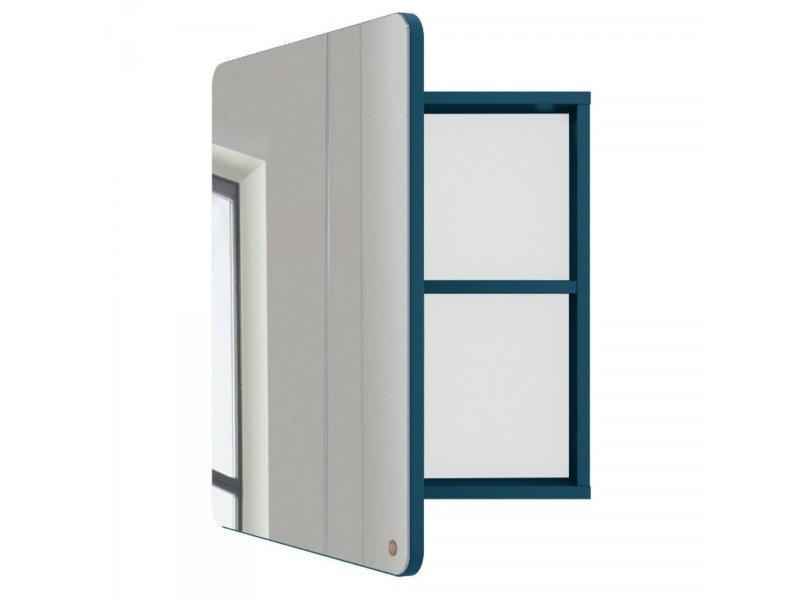 Miroir de salle de bain avec placard en bois atole 9004980023