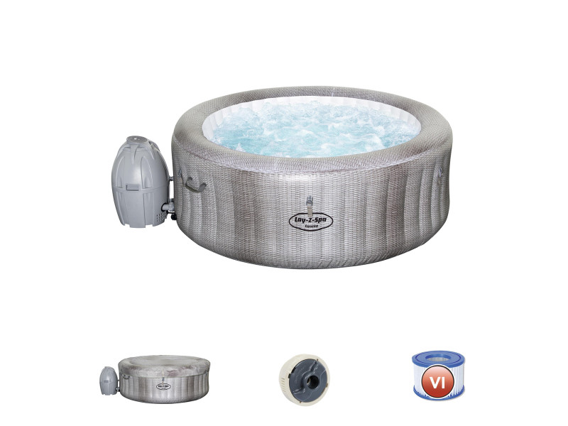 Spa Gonflable Bestway Lay Z Spa Cancun Pour 2 4 Personnes Rond