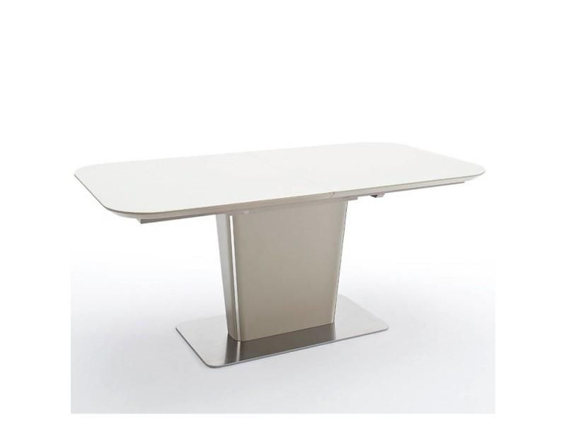 Table repas extensible design uma 140cm taupe 20100872014