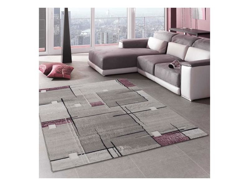 Tapis grand dimensions nova violet 80 x 150 cm tapis de ...