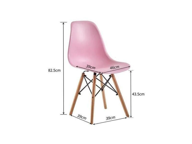 2 chaise scandinave design la mode salle à manger chaises de