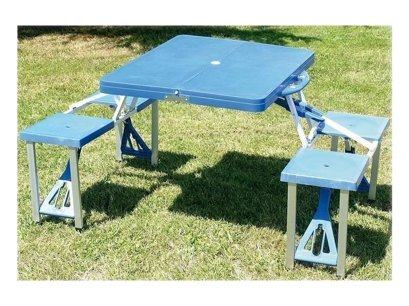 Valise De Conforama Bleu Randonnée Et Nic Table Vente Camping Pic vm80Nwn