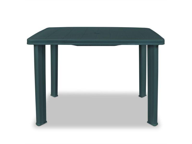 Icaverne - tables d\'extérieur serie table de jardin 101 x 68 x 72 cm ...