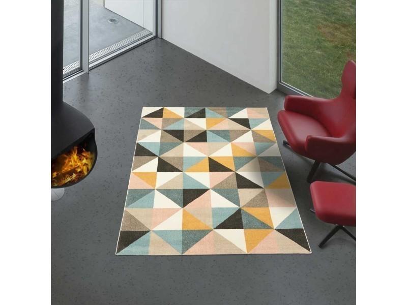 Tapis Chambre Triangle Ek Multicolore 60 X 110 Cm Tapis De Salon