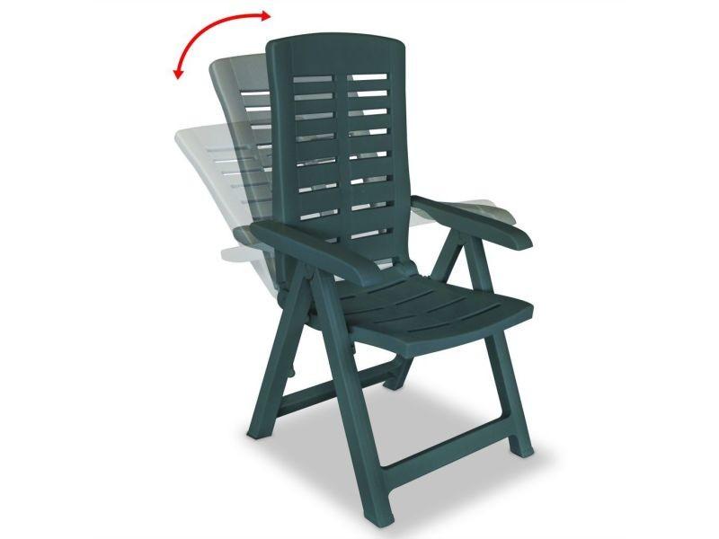 Icaverne - chaises d\'extérieur famille chaise inclinable de ...
