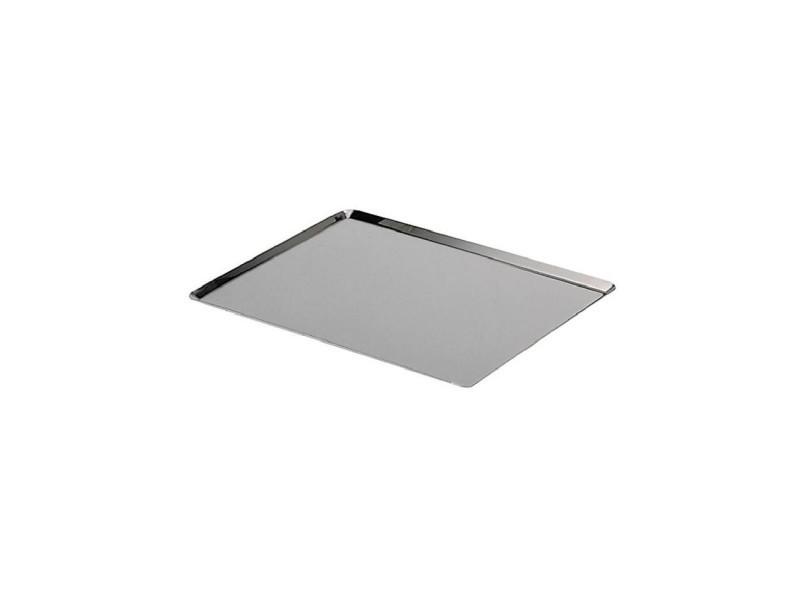 Plaque rectangulaire - inox - l 40 x l 30 cm DEB3011243361404
