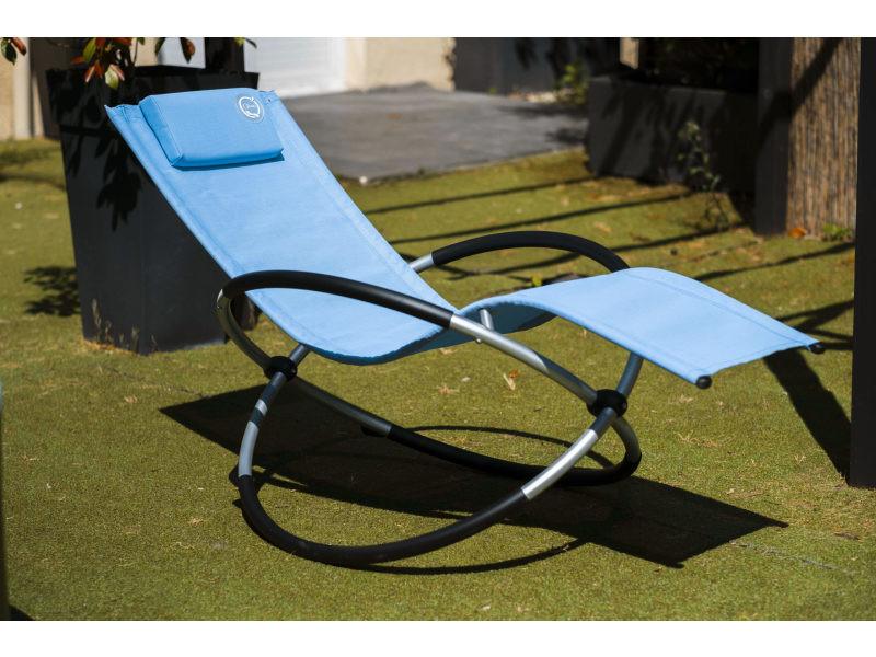 Transat à bascule - structure confortable - pliant - Vente ...