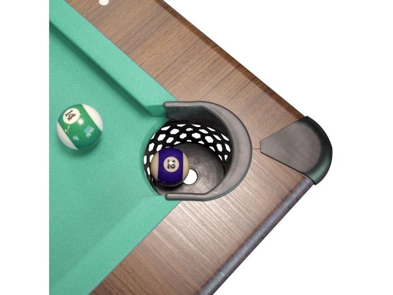 Table Convertible Billard Americain Ambiance 7ft 226 5 X 126 5