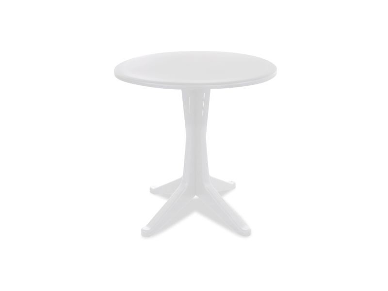 Table de jardin ronde en plastique - Vente de Table - Conforama
