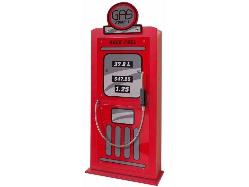 Armoire à 1 porte 50 cm en mdf design pompe à essence ...