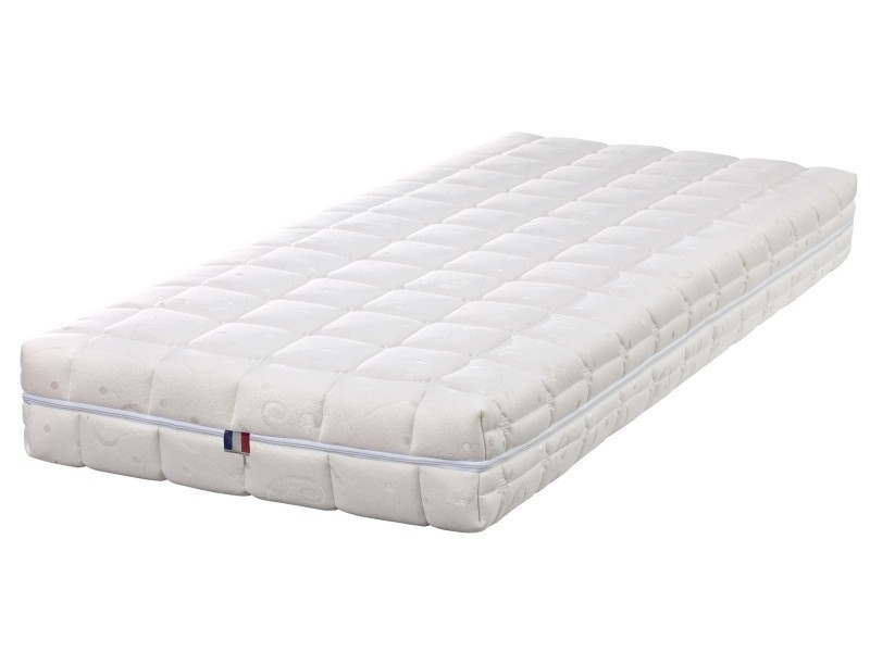 natural latex matelas 80x190 ferme latex naturel 80 kg/m3
