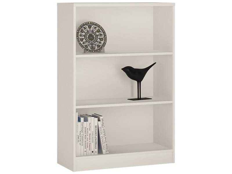 Étagère bibliothèque blanche - meuble de rangement pour ...