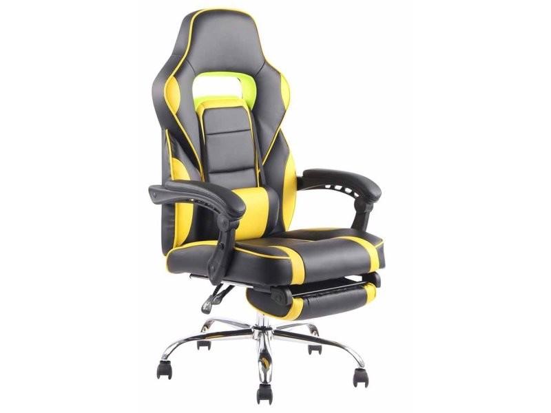 ergonomique extensible repose de avec Fauteuil pieds bureau BreCodxW