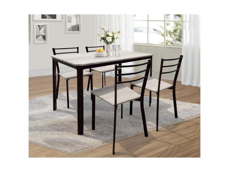 Table de cuisine et salle à manger + 4 chaises leeds. - Vente de ...