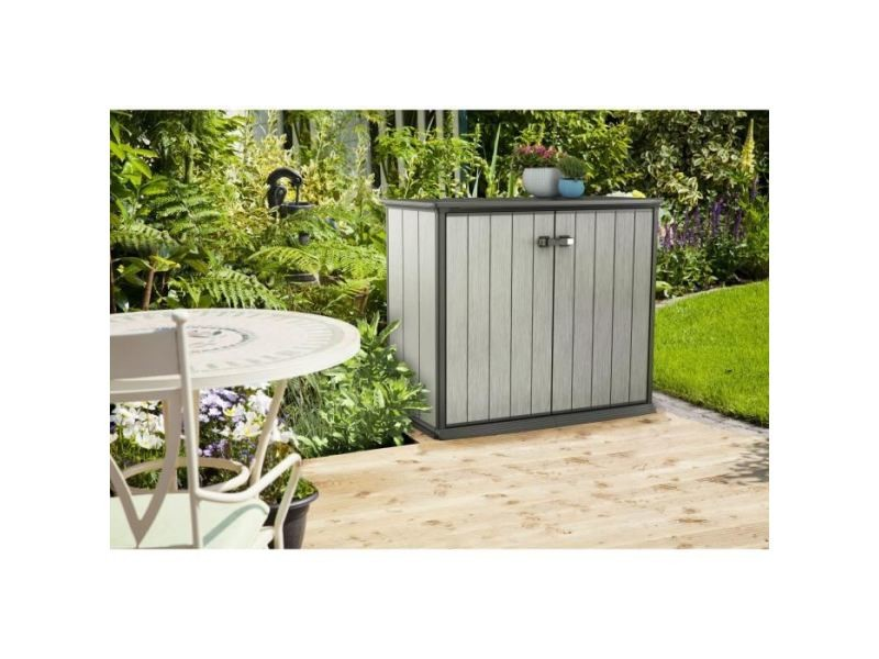 Coffre d\'exterieur - rangement d\'exterieur armoire de jardin en ...