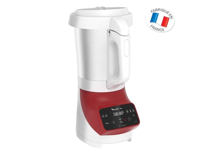 Blender chauffant de 5l avec écran tactile 1100w rouge blanc